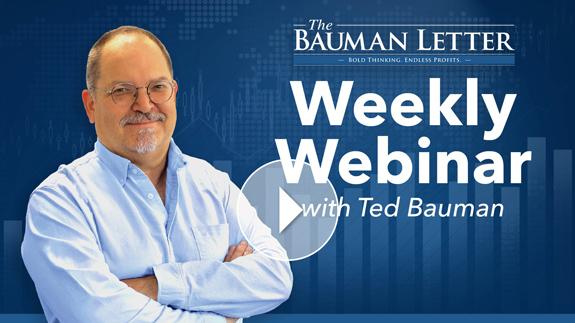 Weekly Webinar with Ted Bauman