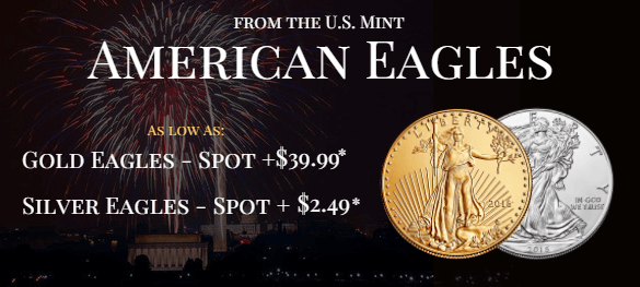 Gold & Silver American Eagles