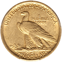 $10 Indian Gold Eagle Reverse