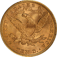 $10 Liberty Gold Eagle Reverse