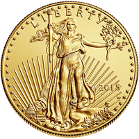 1 oz Gold Eagle Obverse