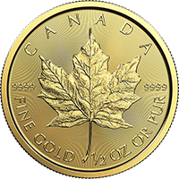 Half oz Gold Maple 2017 Obverse