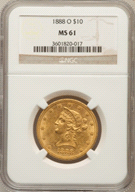 MS61 Liberty Slabbed F