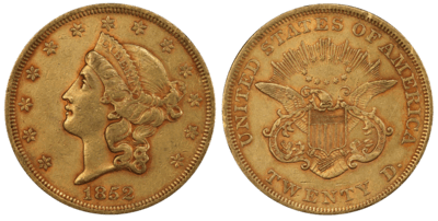 Type 1 $20 Liberty Double Eagle