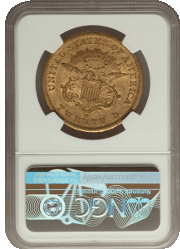 Type 1 $20 Liberty Double Eagle Reverse
