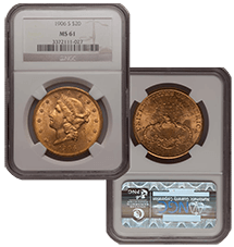 1906-S Liberty Double Eagle