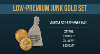 Daringly Low Premiums on Vintage Gold Sets
